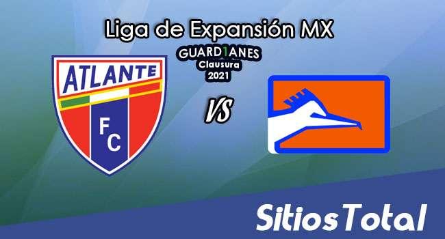 Atlante vs Correcaminos en Vivo – Canal de TV, Fecha, Horario, MxM, Resultado – J2 de Guardianes Clausura 2021 de la  Liga de Expansión MX