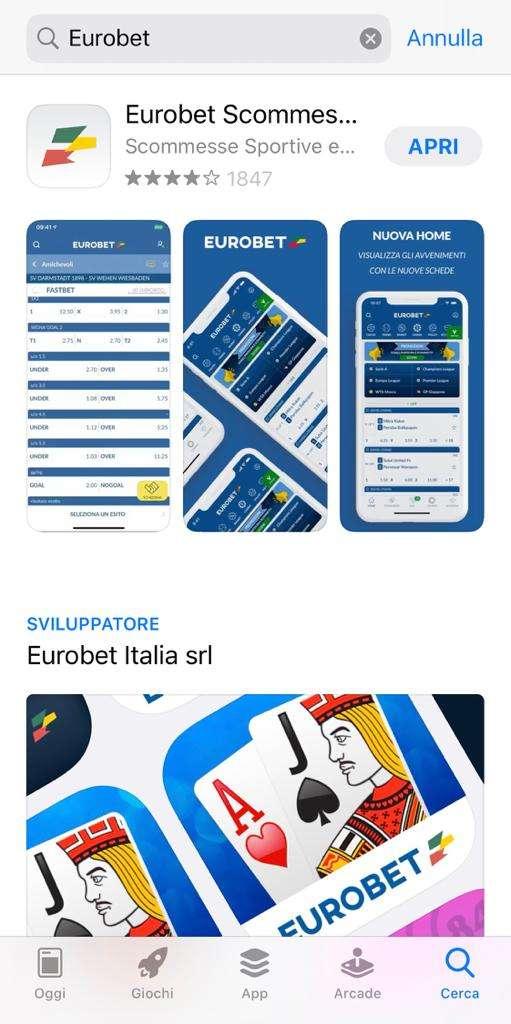 eurobet app download