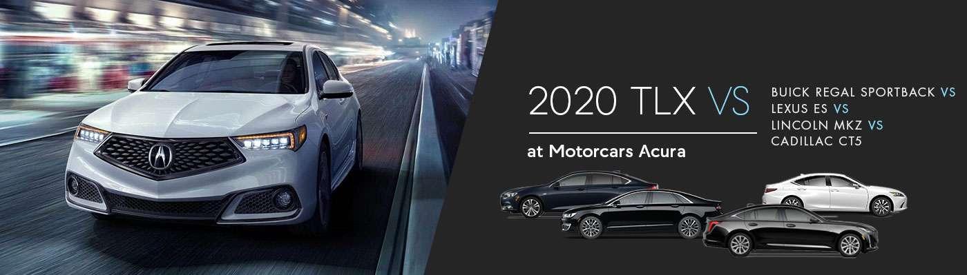 2020 Acura TLX vs. Lexus ES vs Lincoln MKZ vs Buick Regal Sportback vs Cadillac ATS