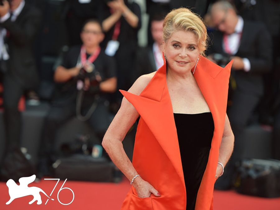 La vérité (The Truth) Catherine Deneuve Venice Film Festival 2019