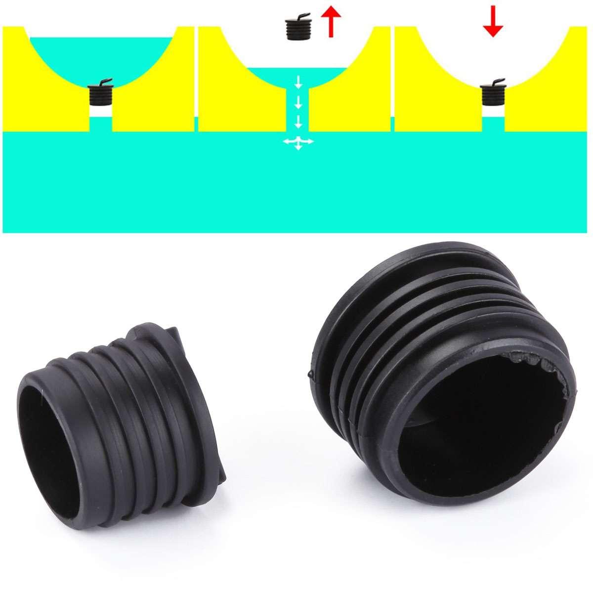 1-10 PCS Silicone Kayak Scupper Plug Kit Canoe Drain Holes Stopper Replacement
