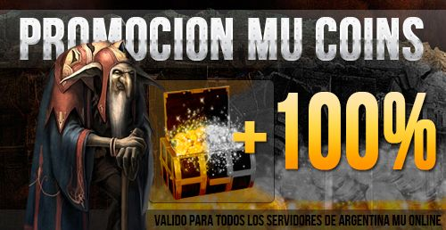 PROMO INVIERNO 2019 DE COINS AL 100