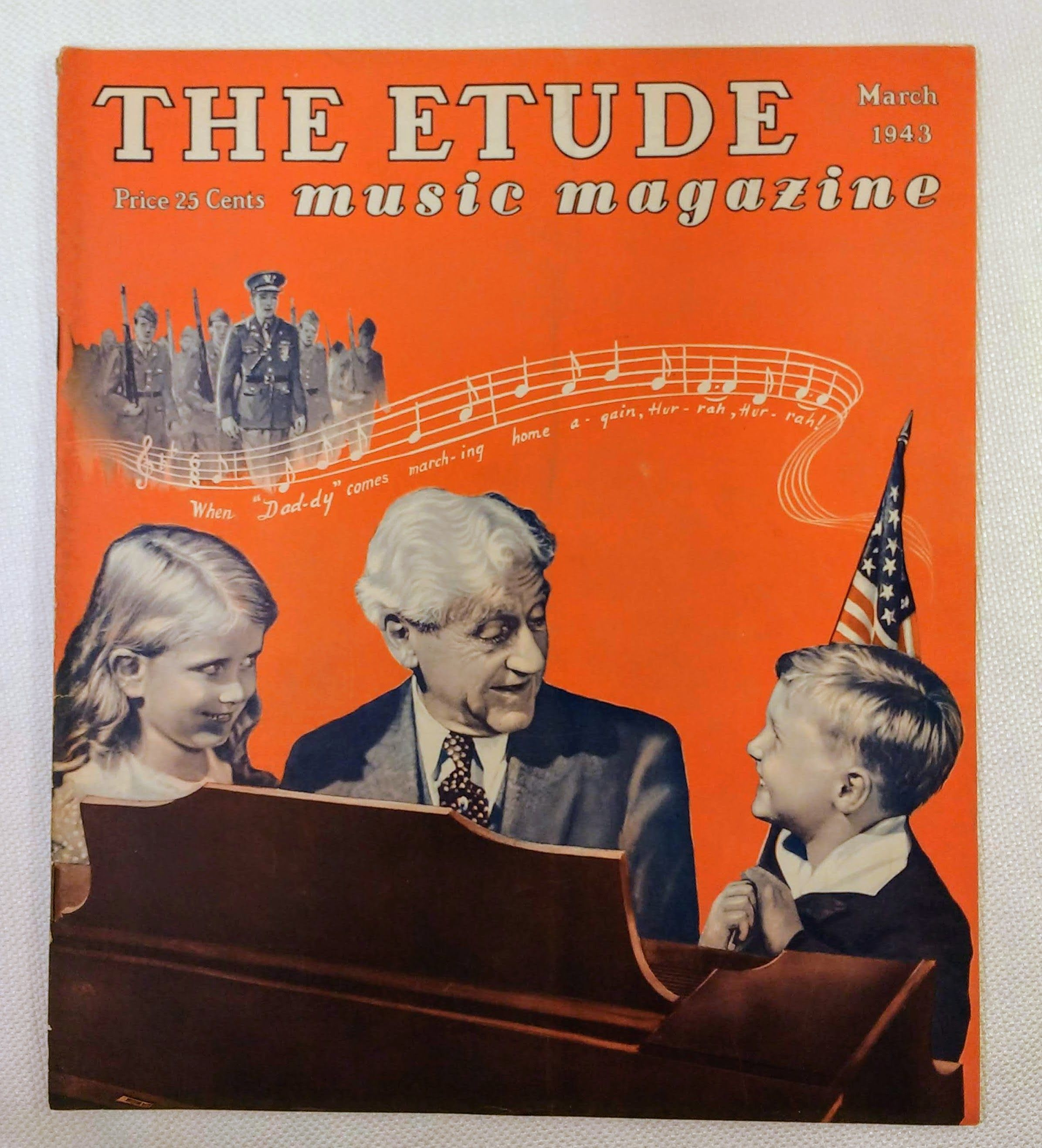 Image for The Etude Music Magazine: Volume LXI, No. 3; March, 1943