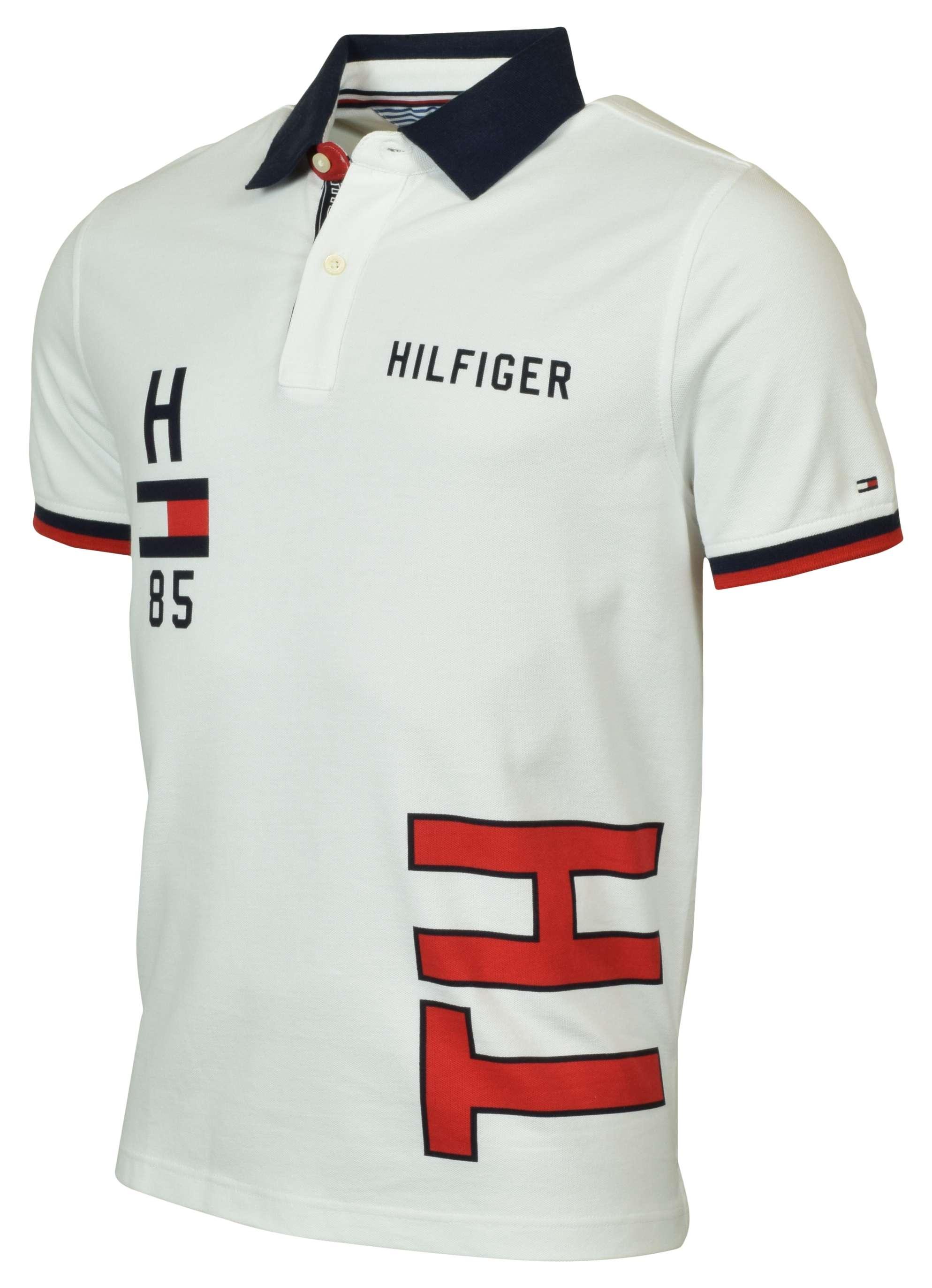 pick up 0195a 03ef2 Tommy Hilfiger Men's Custom Fit Logo Polo Shirt