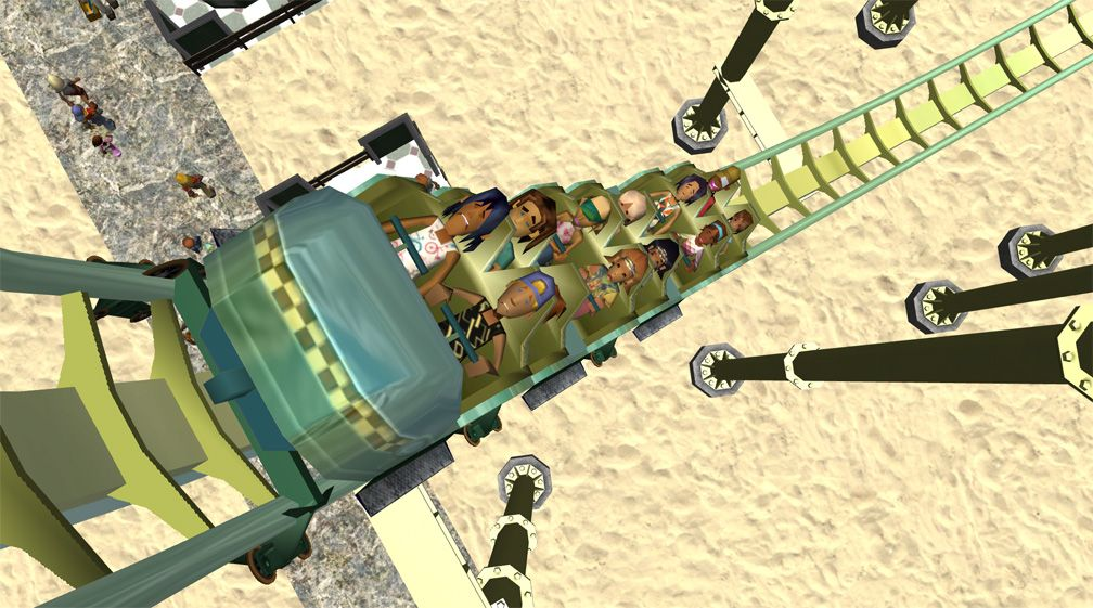 Demo Screenshot Image 02, My Downloads - Coasters, Rides, & Attractions - Coaster: The Green Serpent