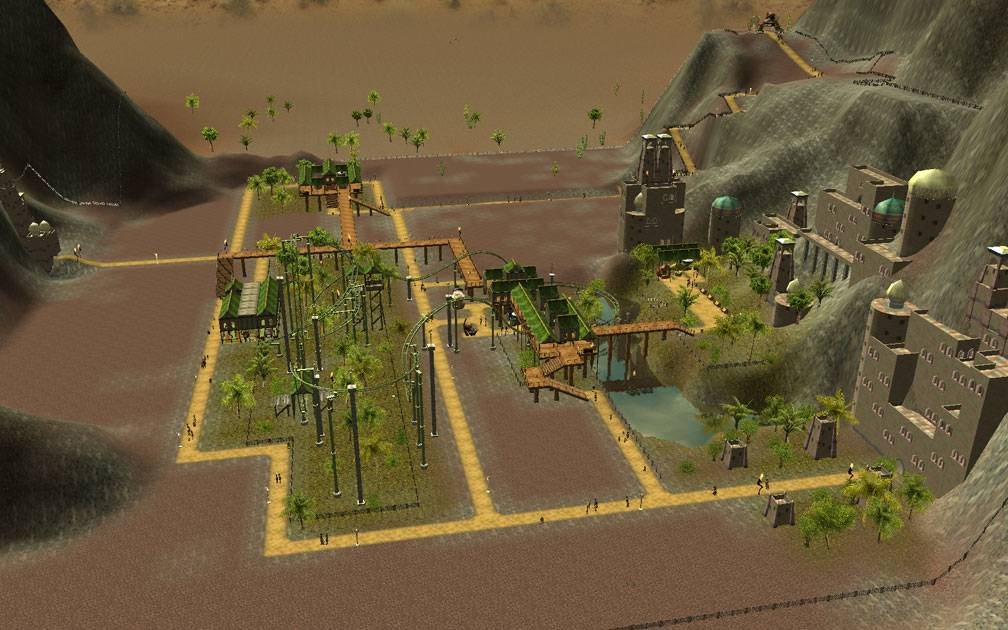 Secondary Image for FlightToAtlantis.net: RCT3 FAQ: Campaign Scenario Directory Specifics: Valley Of Kings