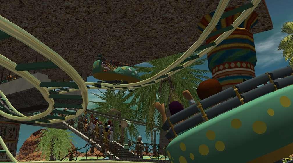 Demo Screenshot Image 03, My Downloads - Coasters, Rides, & Attractions - Coaster: Zamperla Mini
