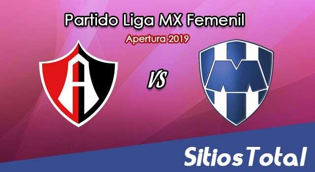 Ver Atlas vs Monterrey en Vivo – Liga MX Femenil – Apertura 2019 – Sábado 20 de Julio del 2019