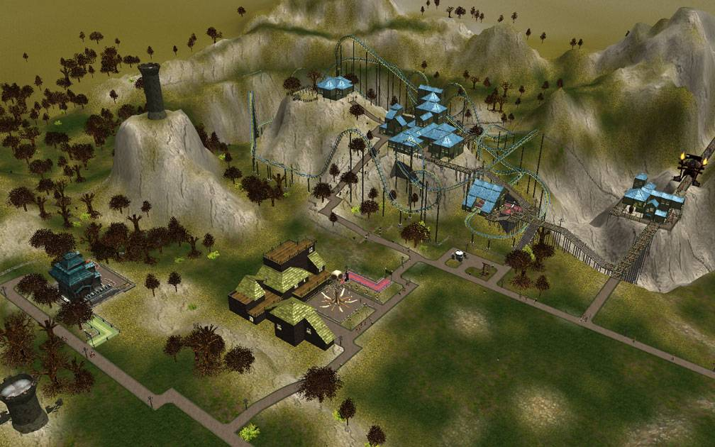 Secondary Image for FlightToAtlantis.net: RCT3 FAQ: Campaign Scenario Directory Specifics: Fright Night