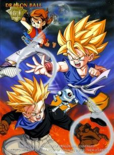 Dragon Ball GT's Cover Image