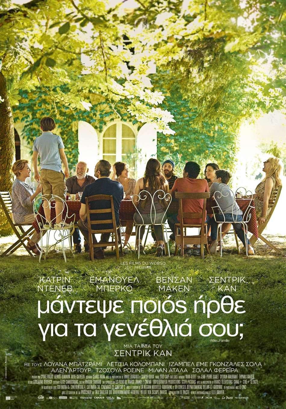 Μάντεψε Ποιος Ήρθε για τα Γενέθλια σου (Fête De Famille) Poster