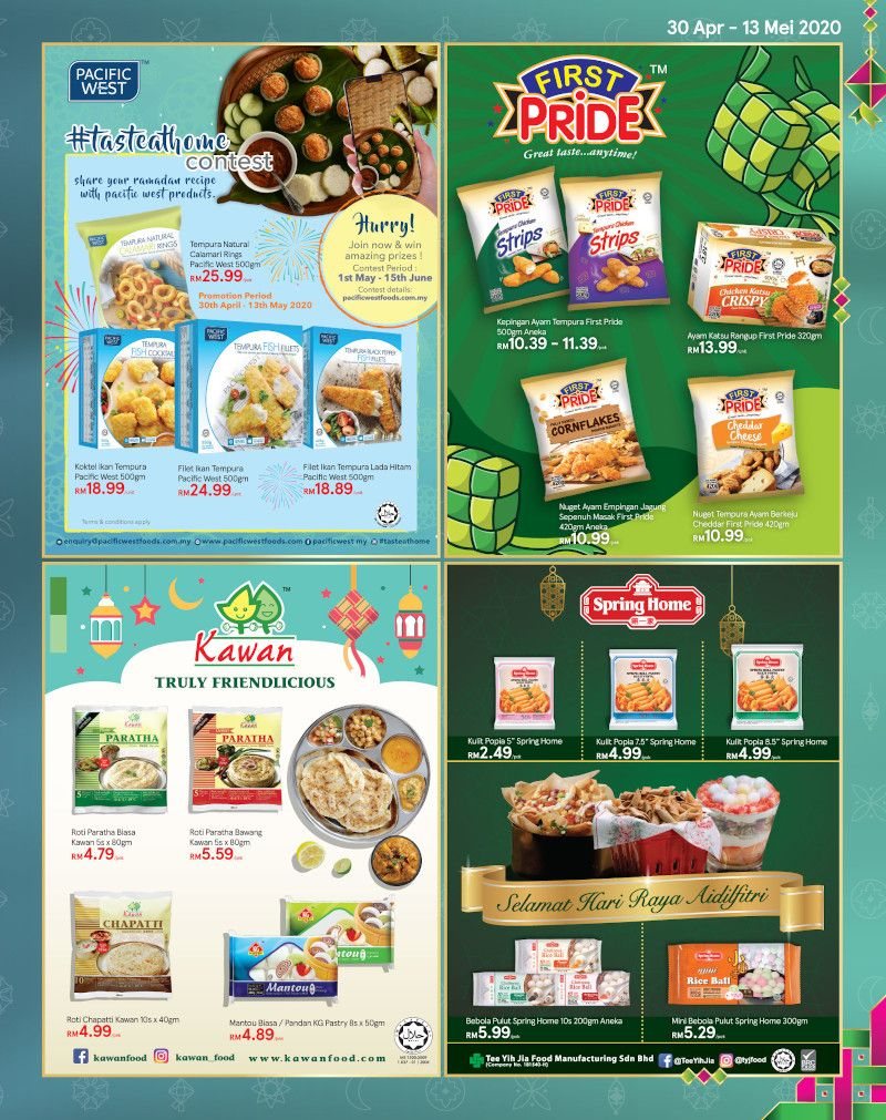 Tesco Malaysia Weekly Catalogue (30 April - 6 May 2020)