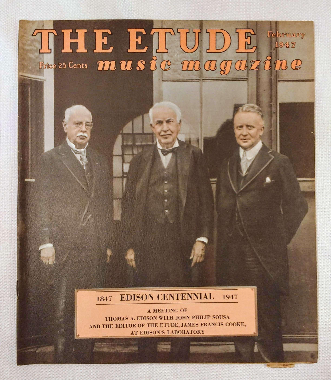 Image for The Etude Music Magazine: Volume LXV, No. 2; February, 1947