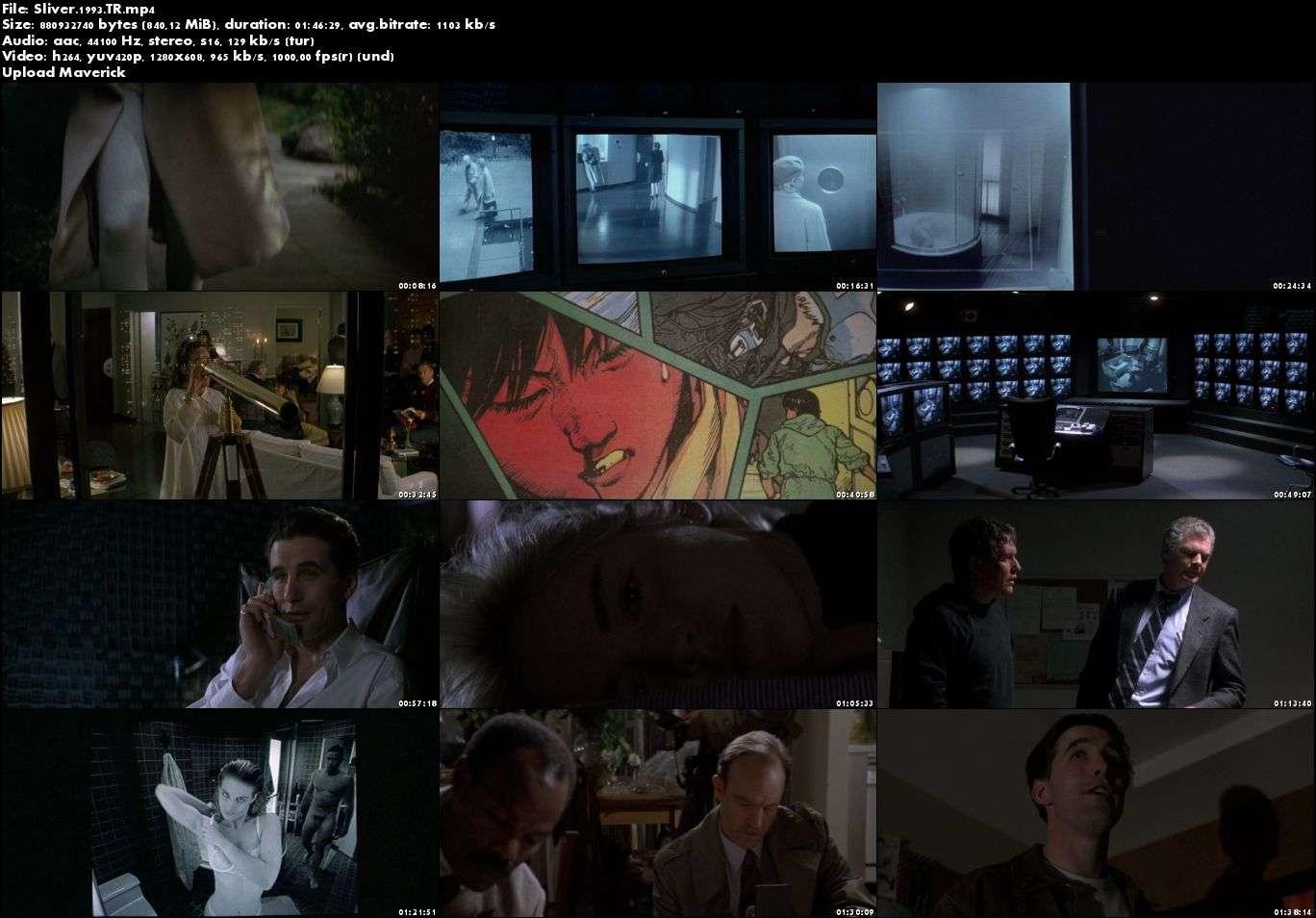 Sliver - 1993 Türkçe Dublaj Mp4 indir