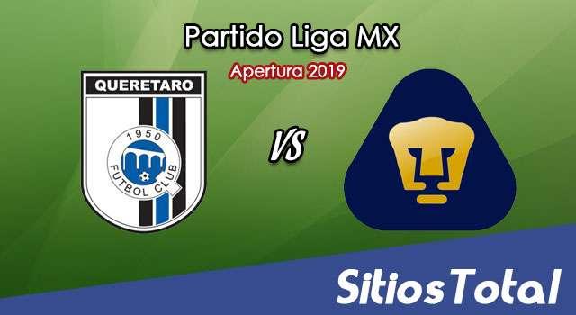 Ver Querétaro vs Pumas en Vivo – Apertura 2019 de la Liga MX