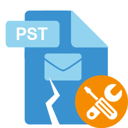 Repairs the PST Files