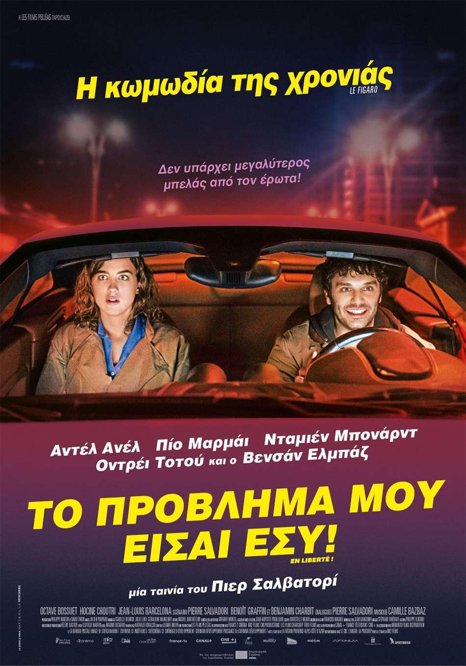 Το Πρόβλημά μου Είσαι Εσύ! (En liberté! / The Trouble With You) Poster Πόστερ