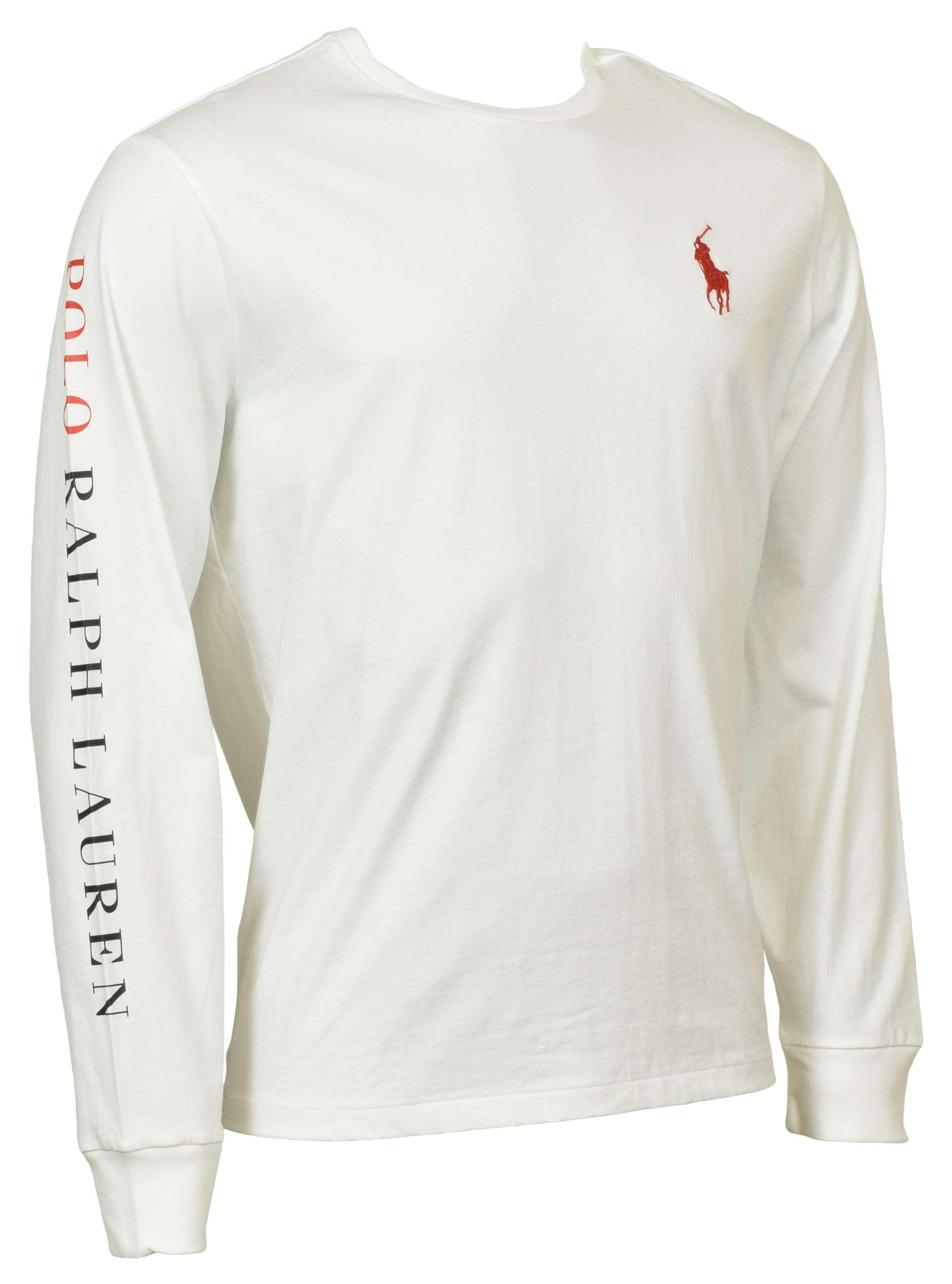 Polo Ralph Lauren Men's Classic Fit Long Sleeve Big Pony Logo T ...