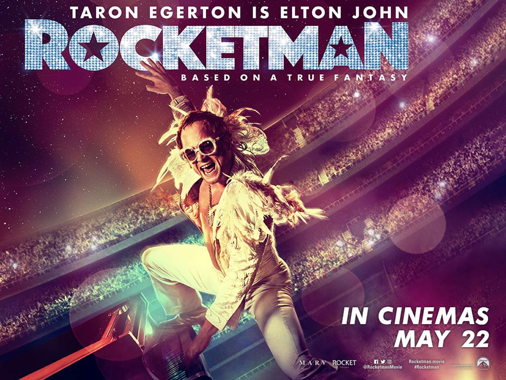 Rocketman Quad Poster Πόστερ