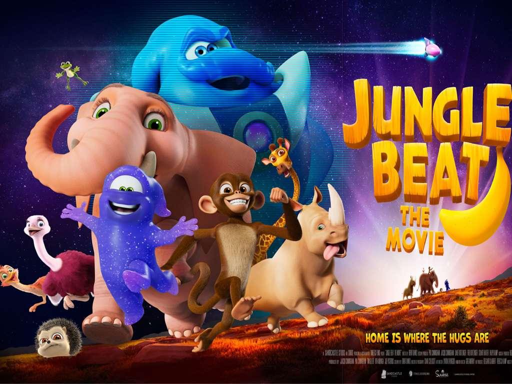 Η Μουσική Της Ζούγκλας (Jungle Beat) Quad Poster