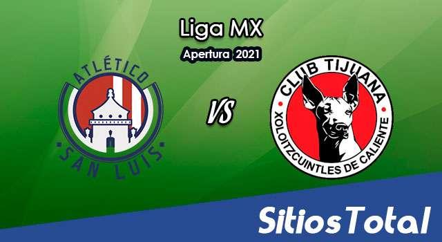 Atlético San Luis vs Xolos Tijuana en Vivo – Canal de TV, Fecha, Horario, MxM, Resultado – J9 de Apertura 2021 de la Liga MX