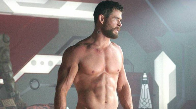 Chris Hemsworth Shares His Home Workout Video on Instagram