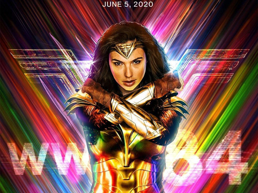 Wonder Woman 1984 Quad Poster