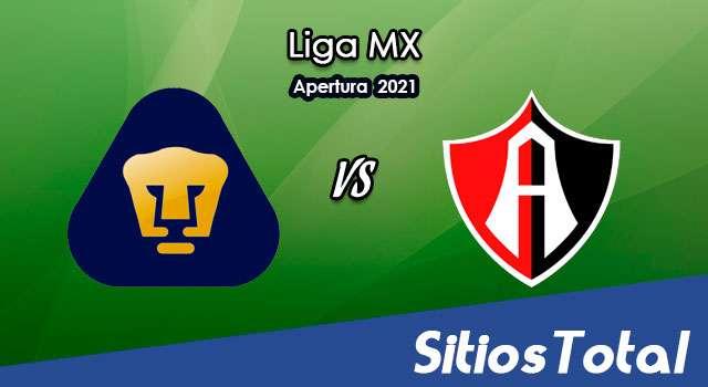 Pumas vs Atlas en Vivo – Canal de TV, Fecha, Horario, MxM, Resultado – J1 de Apertura 2021 de la Liga MX