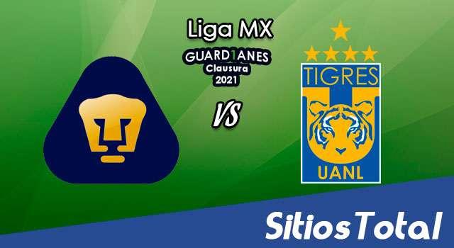 Pumas vs Tigres en Vivo – Canal de TV, Fecha, Horario, MxM, Resultado – J15 de Guardianes 2021 de la Liga MX