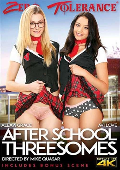 Постер:После Школы Втроем