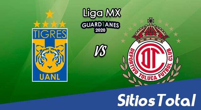 Tigres vs Toluca en Vivo – Liga MX – Guardianes 2020 – Domingo 22 de Noviembre del 2020