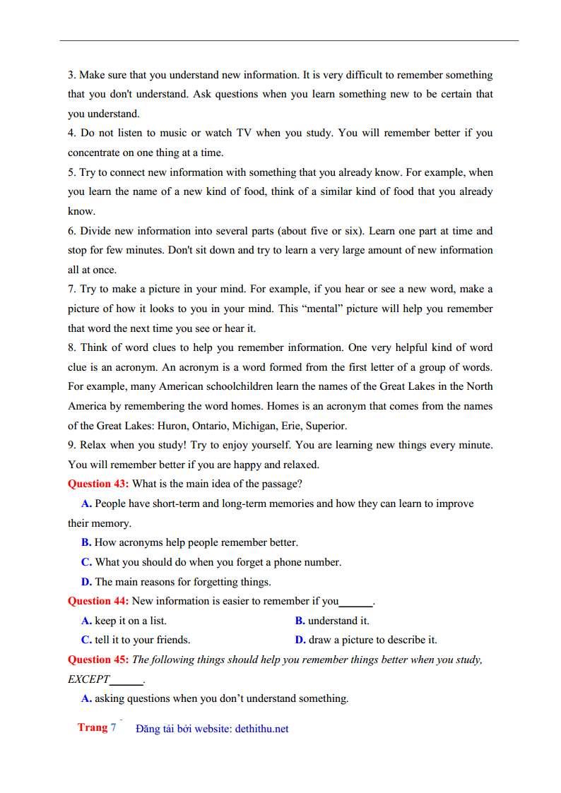 De thi tieng Anh 2018 THPT Phan Dang Luu, Hue dap an giai chi tiet trang 18