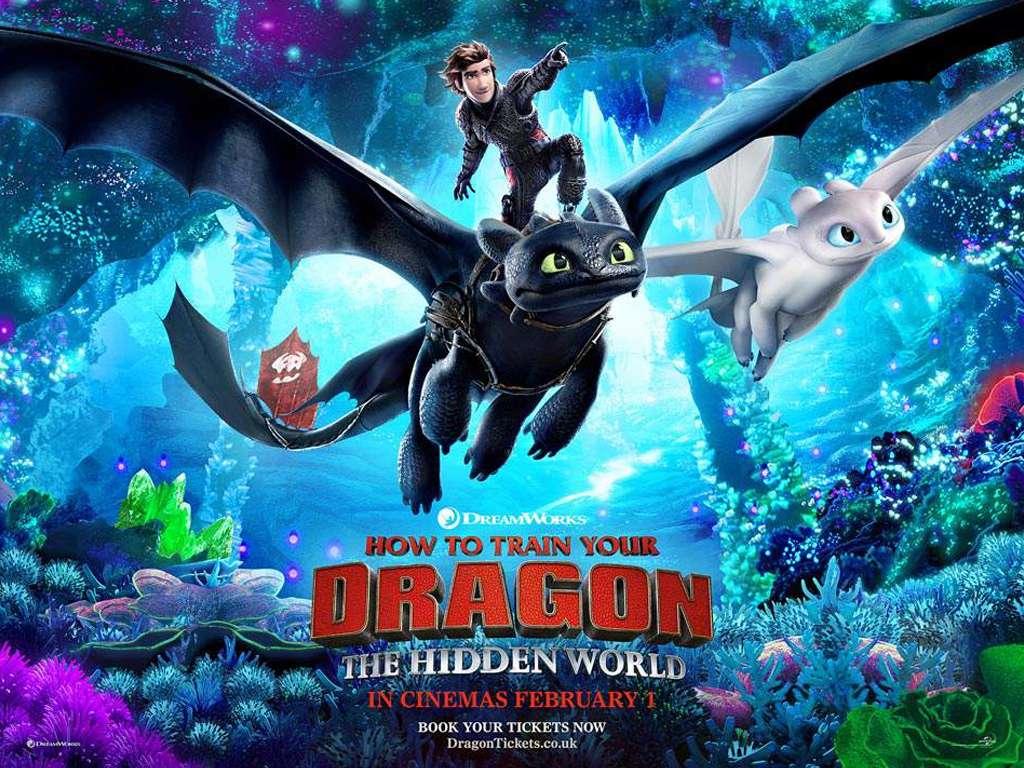 Πώς να Εκπαιδεύσετε το Δράκο σας 3 (How To Train Your Dragon: The Hidden World) Quad Poster Πόστερ