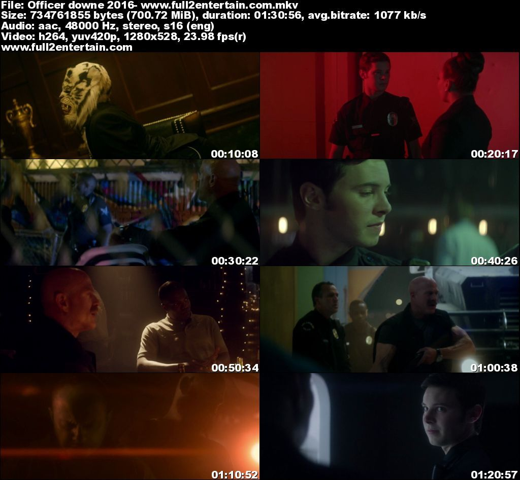 Officer Downe 2016 Full Dvdrip Movie Download Avi