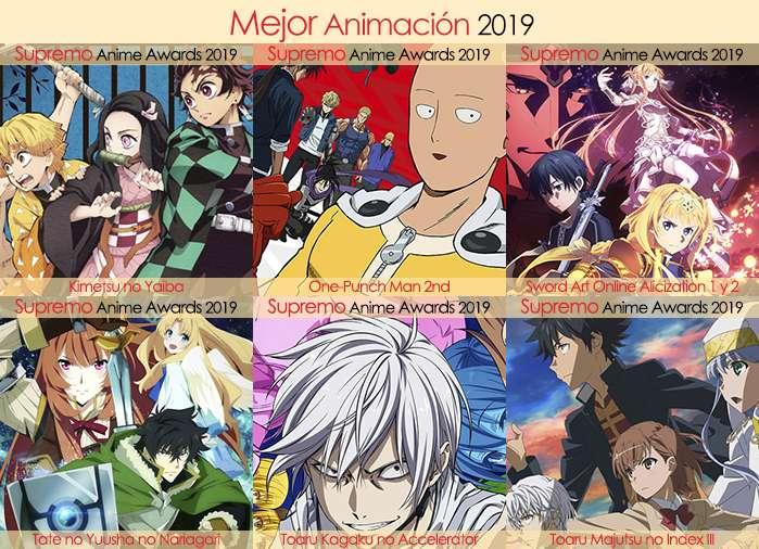 Final X Categorias Nominados a Mejor Animación 2019