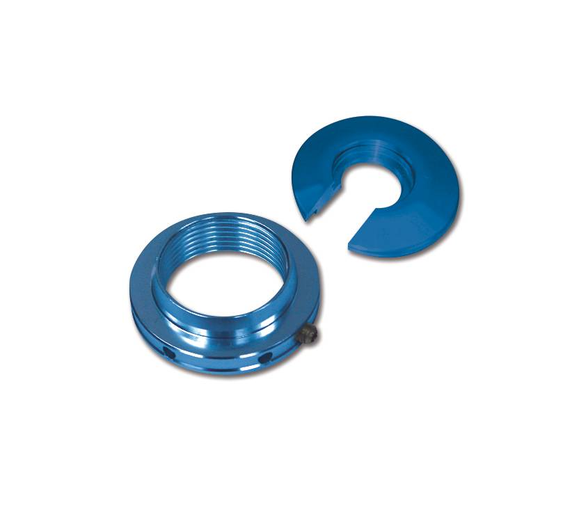 Aluminum Coil-Over Kit Low Profile Drag Shock Blue