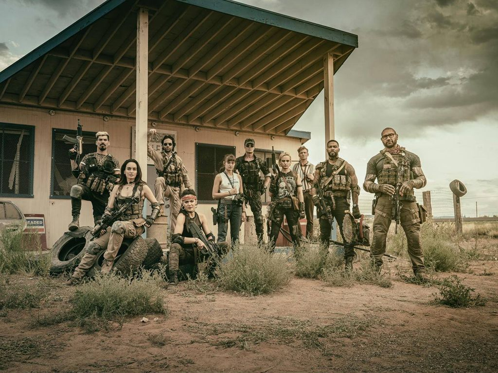 First Look Army Of The Dead Zach Snyder