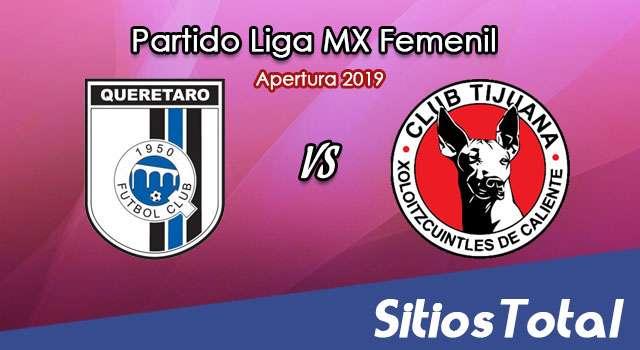 Ver Querétaro vs Xolos Tijuana en Vivo – Liga MX Femenil – Apertura 2019 – Viernes 13 de Septiembre del 2019