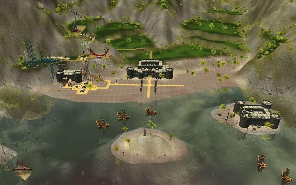 Secondary Image for FlightToAtlantis.net: RCT3 FAQ: Campaign Scenario Directory Specifics: Captain Blackheart's Cove
