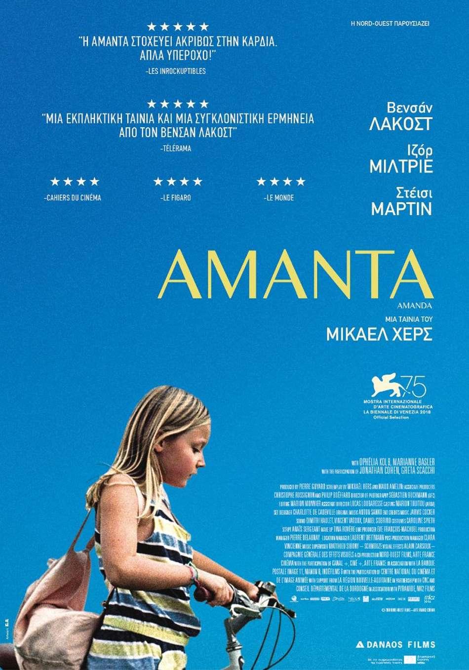 Αμάντα (Amanda) Poster Πόστερ