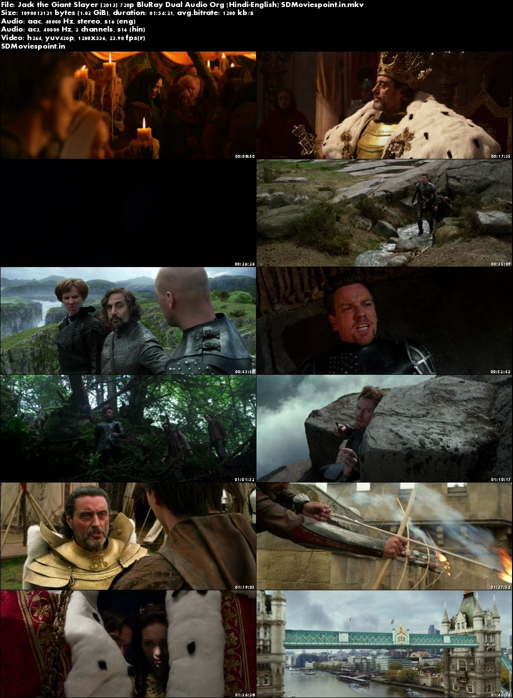 Screen Shot Jack The Giant Slayer (2013) Full HD Movie Download In Hindi 720p