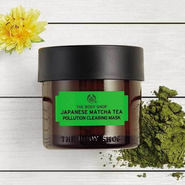 Dolphin Skin The Body Shop Japanese Matcha Tea Pollution Clearing Mask