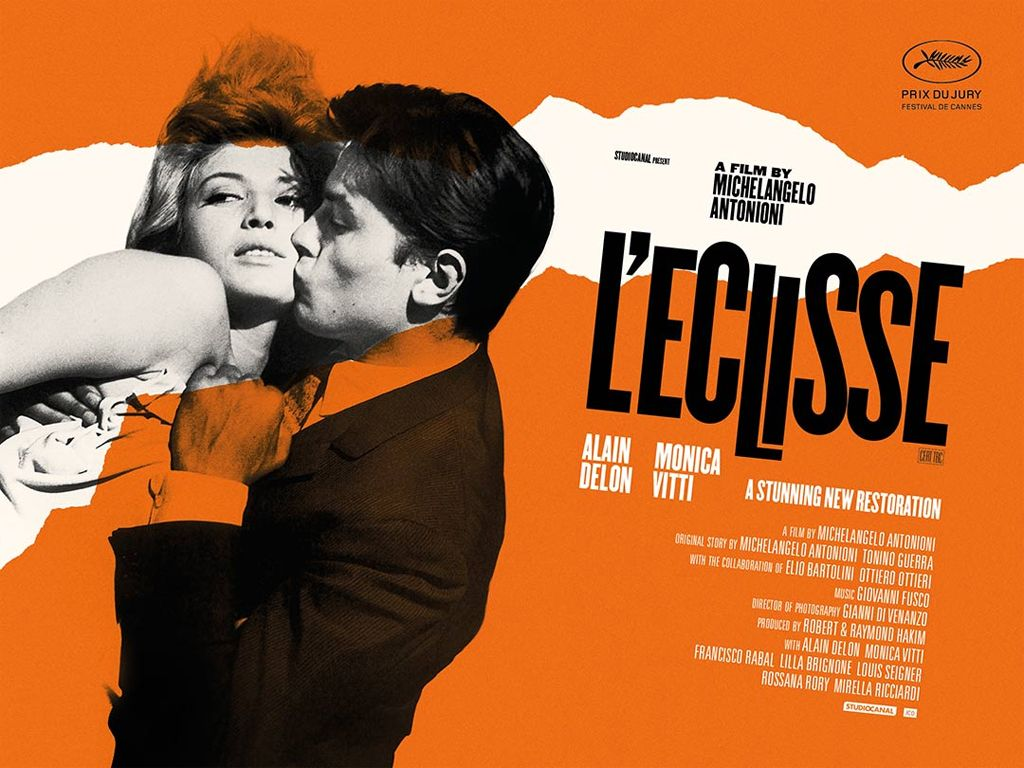 Η Έκλειψη (L'Eclisse) Movie Poster Wallpaper