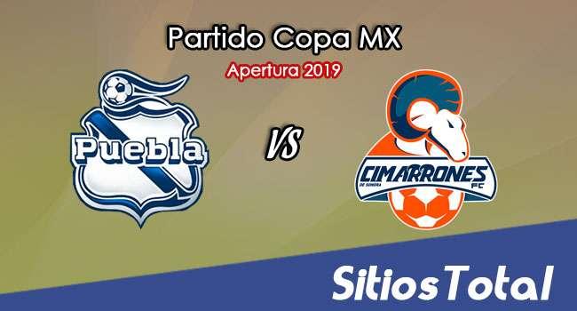 Puebla vs Cimarrones de Sonora en Vivo – Copa MX – Martes 5 de Noviembre del 2019