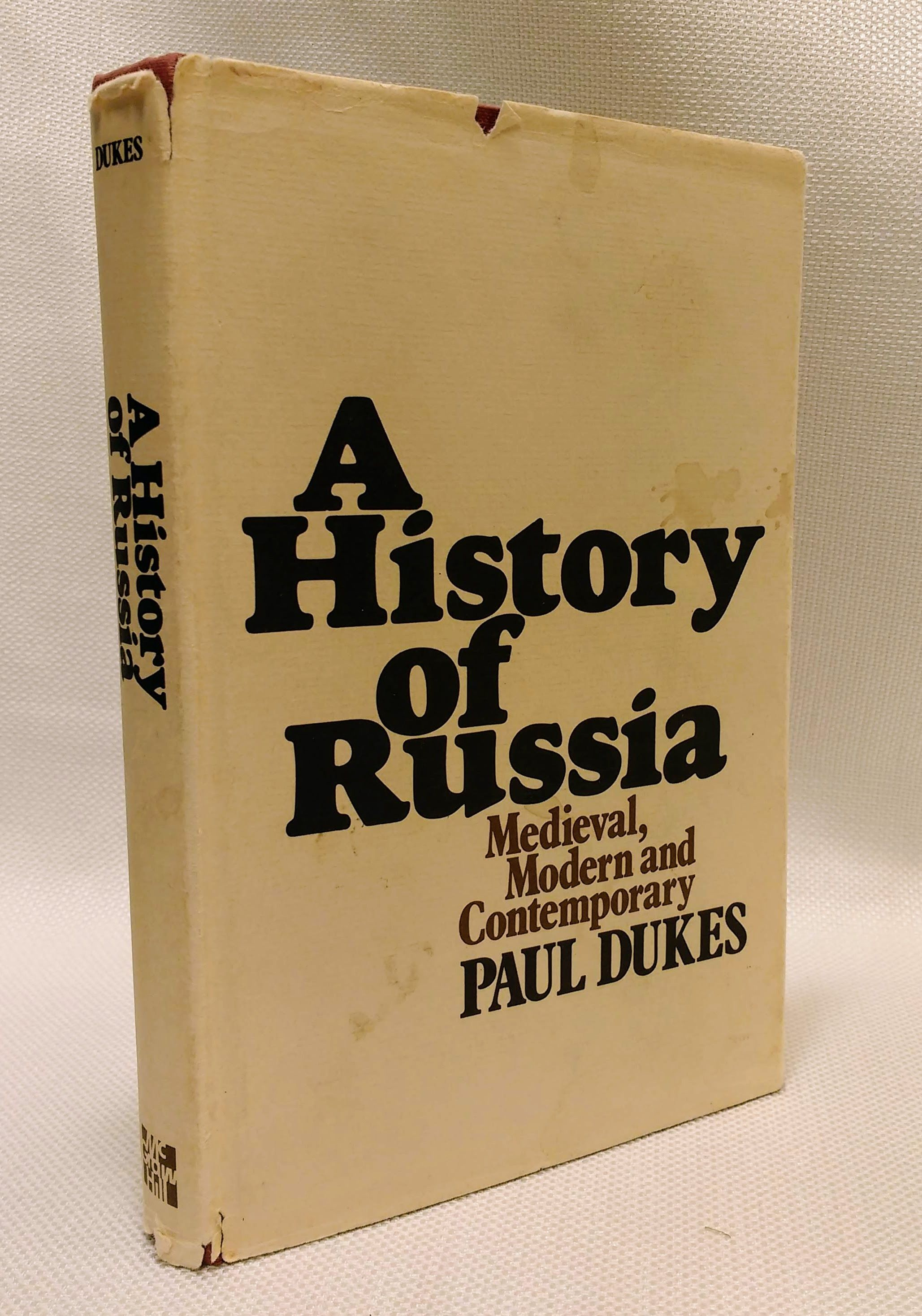 A history of Russia: medieval, modern, and contemporary, Dukes, Paul