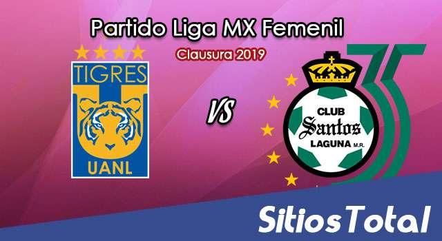 Ver Tigres vs Santos en Vivo – Liga MX Femenil – Clausura 2019 – Lunes 18 de Marzo del 2019