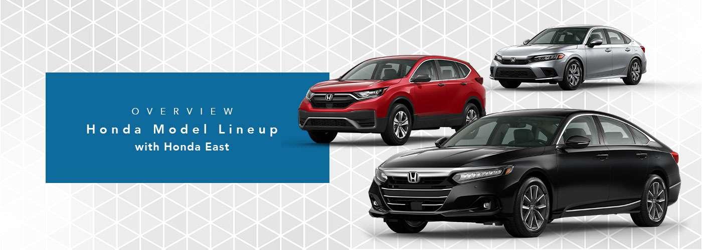 Honda Model Line-Up at Honda Cincinnati East