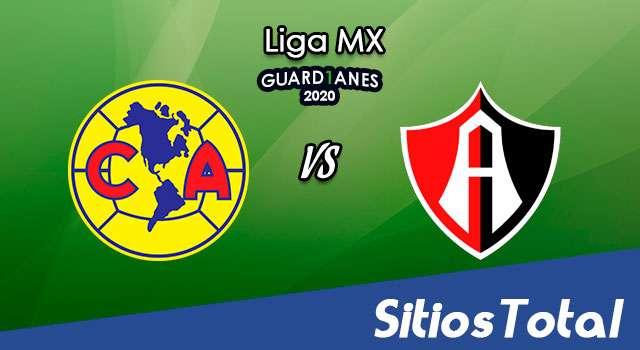 América vs Atlas en Vivo – Liga MX – Guardianes 2020 – Sábado 24 de Octubre del 2020