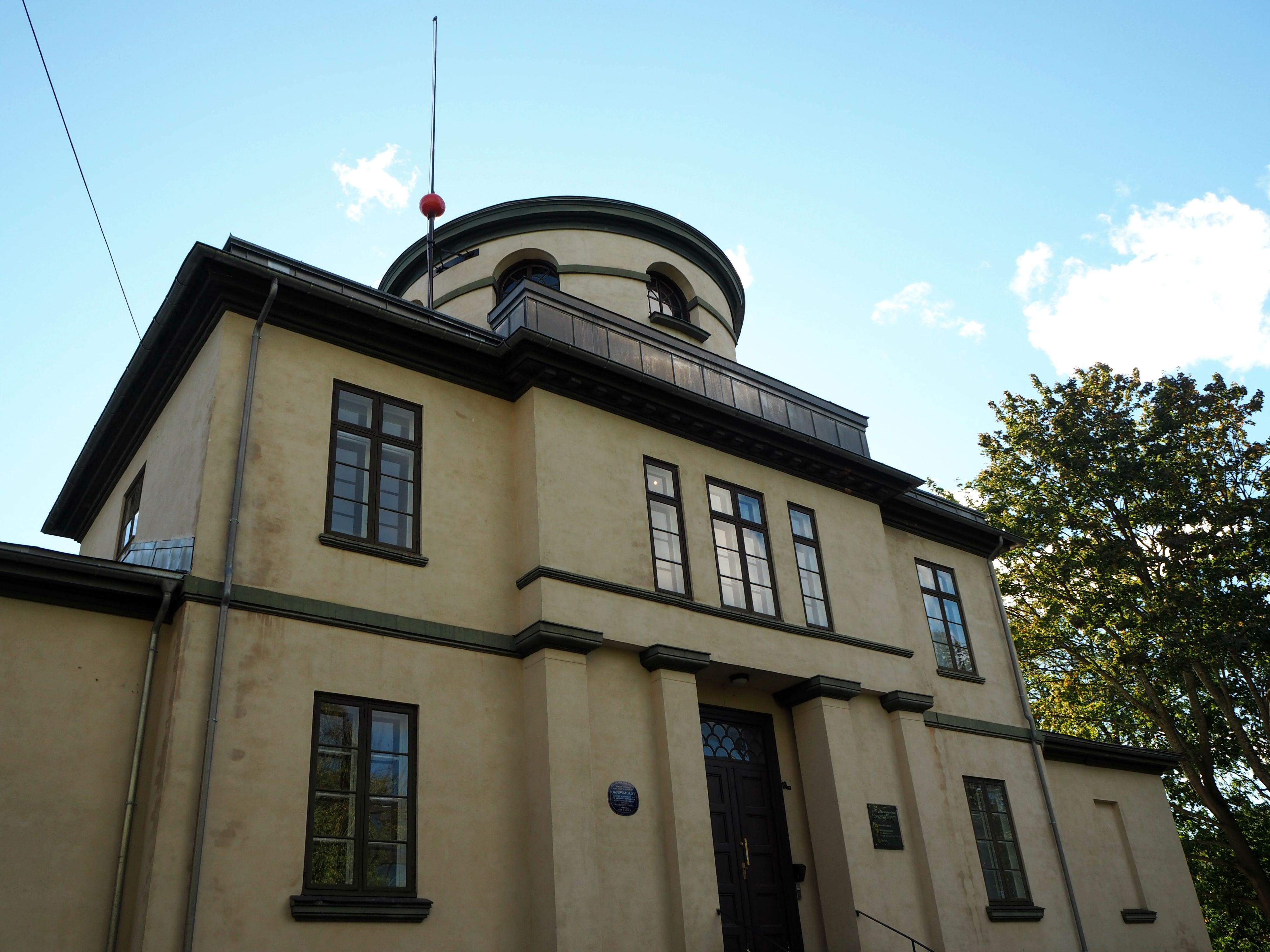 The University of Oslo's Observatory, built in 1833