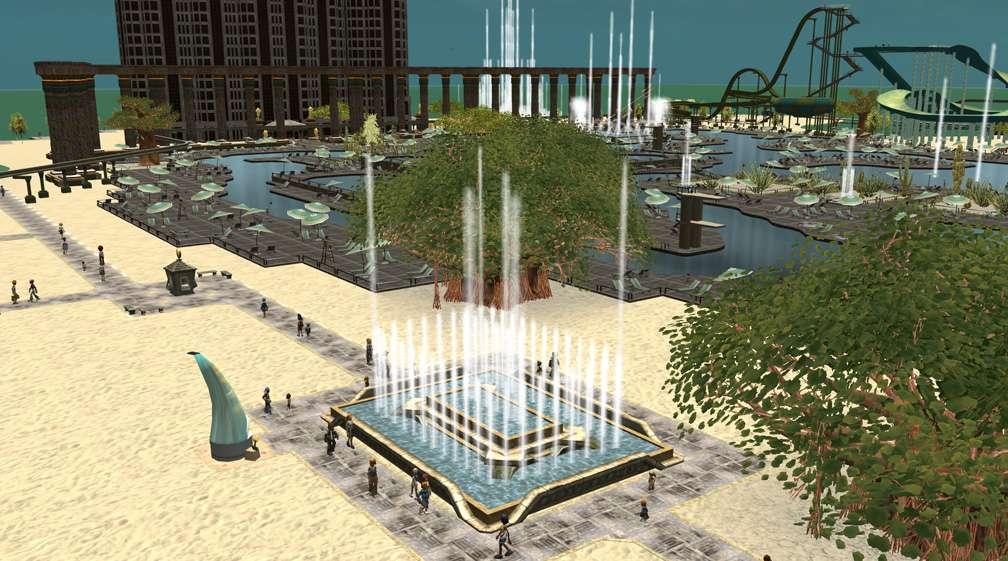 Image 10 - Parks, Scenarios, & Sandboxes - Scenario: Water World Resort